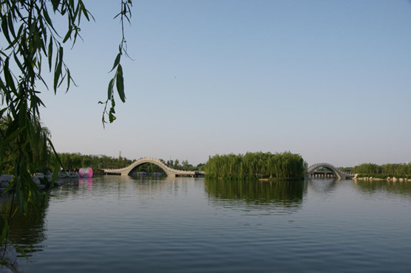 康王河湿地公园